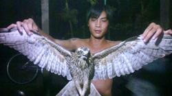 Bắt được chim lạ, sải cánh 1m ở Đồng Tháp