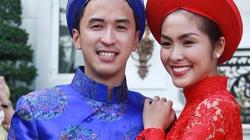 Tăng Thanh Hà rạng rỡ bên chồng trong ngày cưới