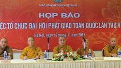 Họp báo trước thềm Đại hội Phật giáo toàn quốc