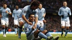 Vùi dập Aston Villa, Man City tạm chiếm ngôi đầu