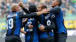 Inter may mắn thoát thua trước Cagliari