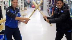 Cầu thủ trẻ Hoàng Anh Gia Lai sang Arsenal luyện tập