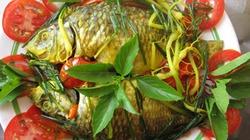 Cá chép kho ngót dễ đưa cơm