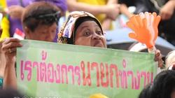 Biểu tình ở Bangkok dưới ống kính phóng viên Dân Việt