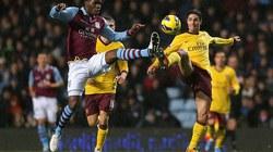 Arsenal chia điểm nhạt nhòa với Aston Villa