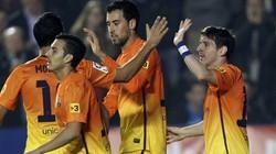 """Hạ Levante 4-0, Barca cho Real """"ngửi khói"""""""