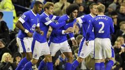 Arsenal đánh rơi chiến thắng trước Everton
