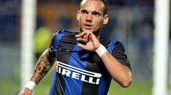 """Inter """"bật đèn xanh"""" cho Sneijder sang M.U"""