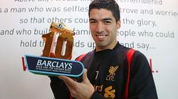 Suarez được Ban tổ chức Premier League vinh danh