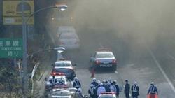 Sập và cháy đường hầm ở Nhật Bản, 5 người bị mắc kẹt