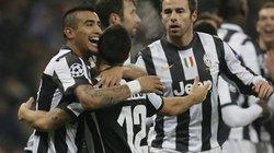 Juventus giành ngôi nhất bảng E