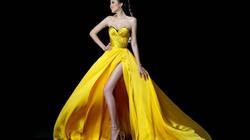 Diện váy dạ hội, Diễm Hương khoe chân dài miên man