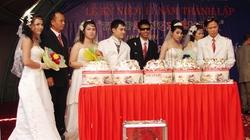 Bình Dương: Đám cưới tập thể cho 12 cặp đôi khuyết tật