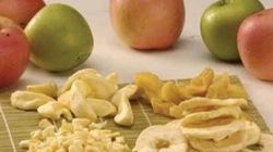 Gió mùa về, thưởng thức vị giòn tan của táo khô