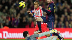 "Clip: Barca ""tàn sát"" Atletico"