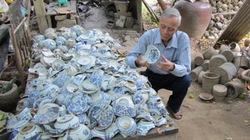 Người nặng lòng với cổ vật sông Hương