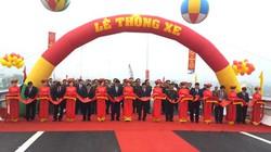 Thông xe cầu vượt trên đường Bắc Thăng Long - Nội Bài