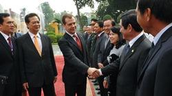 Ấn tượng với Thủ tướng Nga D. Medvedev