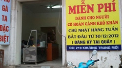 """""""Phở miễn phí"""" ngày Chủ nhật giữa Hà Nội"""