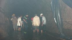 Đóng cửa hầm, dừng tìm người mất tích vì nước tràn