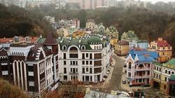 """Lạnh người """"thị trấn ma của các triệu phú"""" ở Kiev"""