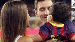 Cao hứng, Messi sáng tác bài hát tặng con trai