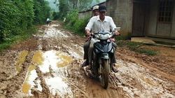 Khốn khổ với đường vào khu sinh thái ở Yên Bái