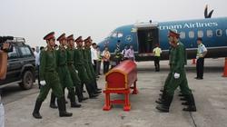 VNA dùng ATR72 chuyên chở linh cữu Đại tướng