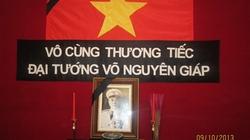Hàng triệu người Việt xa xứ thành kính viếng Đại tướng
