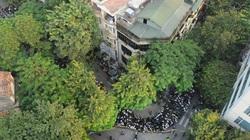 Từ trên cao, dòng người cuộn chảy về Nhà tang lễ viếng Đại tướng