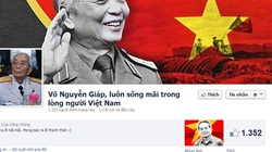 Cộng đồng mạng bày tỏ niềm tiếc thương Đại tướng qua những status xúc động