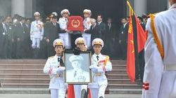 Nghi lễ quốc tang đưa linh cữu Đại tướng rời Nhà tang lễ Quốc gia