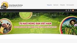 """Báo Nông thôn Ngày nay ra mắt trang web """"Tự hào nông dân Việt Nam"""""""