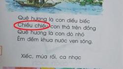 Lỗi chính tả khó hiểu trong sách Tiếng Việt lớp 1