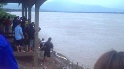 Thấy gì tại hiện trường máy bay Lào rơi trên sông Mekong?