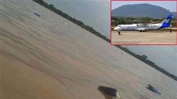 Máy bay Lào đâm xuống sông Mekong do bão Nari?