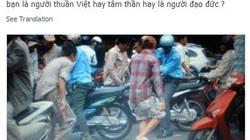 Cộng đồng mạng bức xúc vụ tranh nhau hôi của ở Sài Gòn