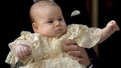 Quý tử hoàng gia Anh kháu khỉnh trong lễ rửa tội
