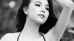 Trà Ngọc Hằng mặc bikini, uốn mình cong vút