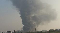 Xem khói lửa cuộn như vòi rồng, 'nuốt trọn' nhà máy Diana Bắc Ninh