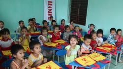 Hòa Bình: Doanh nghiệp xây tặng trường mầm non