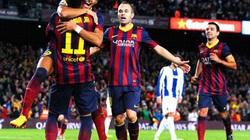 Neymar, Sanchez tỏa sáng giúp Barcelona thắng trận derby