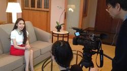 Thủy Tiên tâm sự về Công Vinh trên truyền hình Nhật
