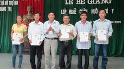 Quảng Trị: 52 nông dân nhận chứng chỉ sơ cấp nghề chăn nuôi thú y