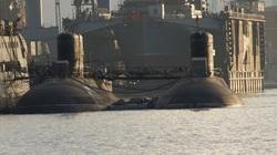 Tàu ngầm Kilo Hà Nội khởi hành về nước chậm vài ngày