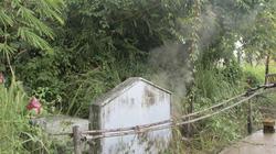 Chuyện ngôi mộ cổ bốc khói giữa Sài Gòn