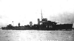 Phát hiện tàu khu trục Anh bị tàu ngầm Nga bắn chìm