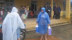 Hội An: Người dân tránh bão tại điểm tập trung được về nhà