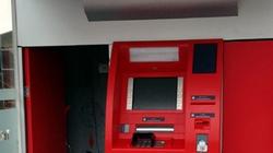Quảng Ninh: Lợi dụng bão dữ, phá ATM trộm tiền