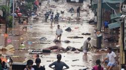 Quảng Ninh: Bàng hoàng lũ ống, tan hoang tựa Tacloban